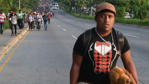 Más de 2.000 hondureños inician éxodo hacia EEUU