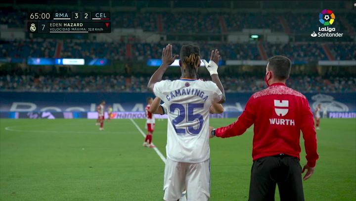 Así fue el debut de Camavinga con el Real Madrid