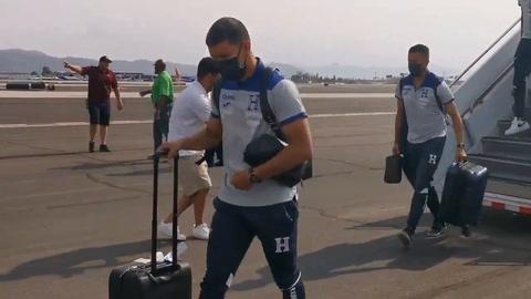 La Selección de Honduras llega a Phoenix para enfrentar a México en la Copa Oro 2021