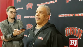 Menzies on UNLV's road wins