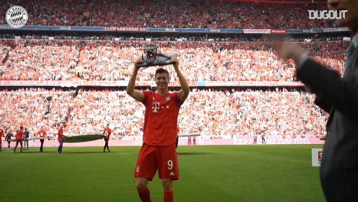 Robert Lewandowski's 2018-19 Bundesliga Goals