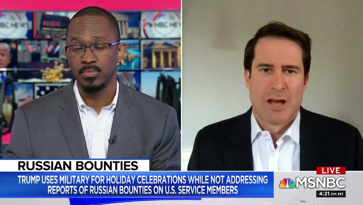Dem Rep. Moulton Calls on Trump to 'Stop Acting Like a Traitor to Our Troops,' Accuses Him of 'Treason' with Russia Inaction