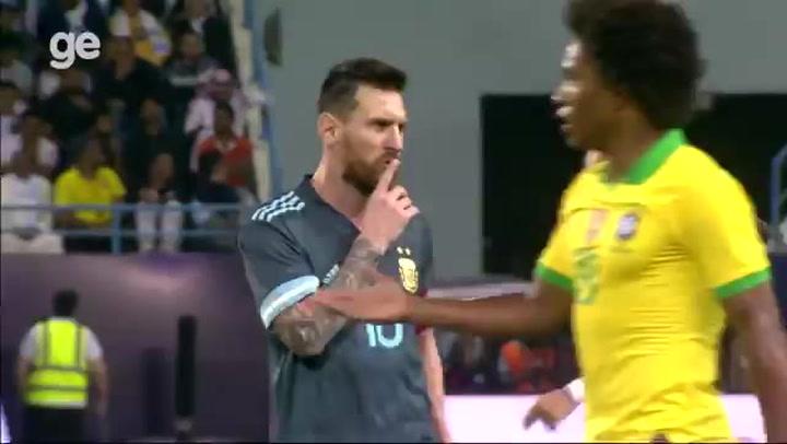 Messi mandó callar a Tite