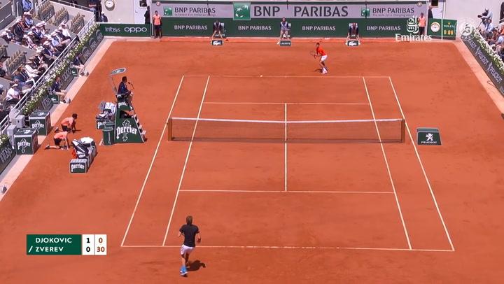 Djokovic vence a Zverev y se mete en semifinales de Roland Garros