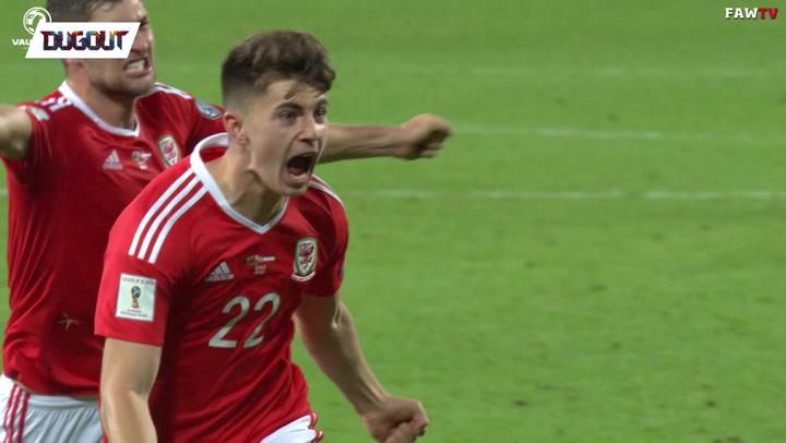Ben Woodburn's dreamy debut Wales goal!