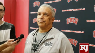 Coach Marvin Menzies on changing UNLV's offense