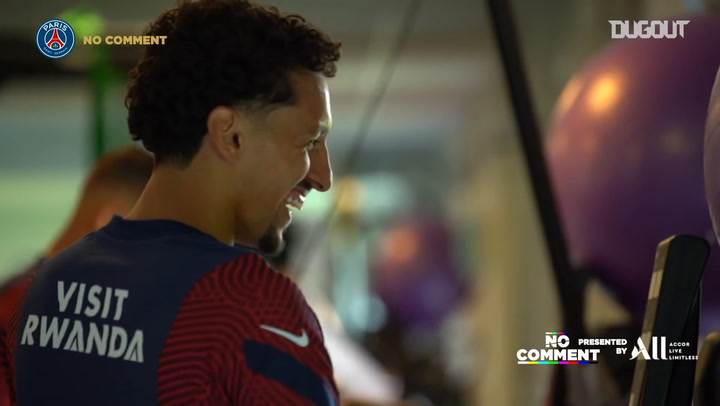 Paris Saint-Germain's funniest moments of the week with Marquinhos