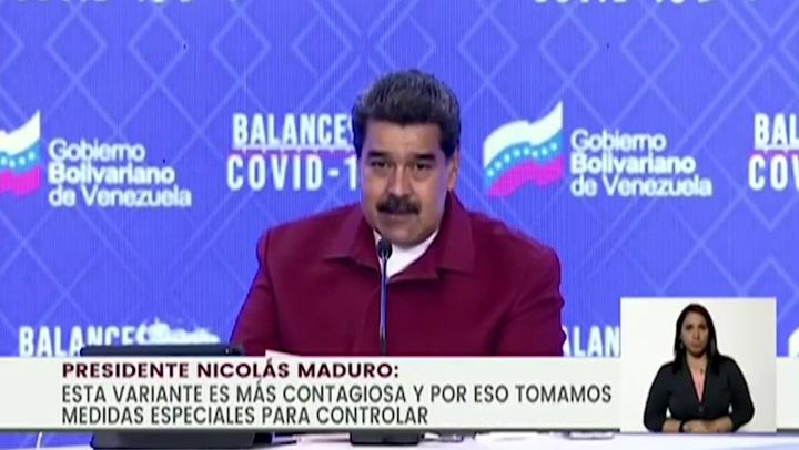 Confirman presencia de variante brasileña de covid-19 en Venezuela