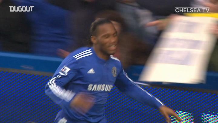 Didier Drogba en la temporada 2009/10