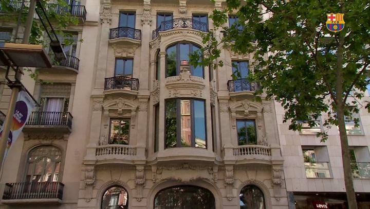 El Barça abrirá una nueva tienda en las Ramblas delante de Canaletes