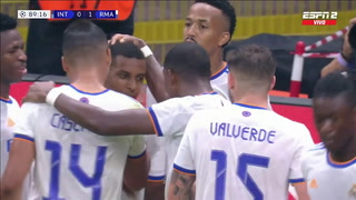 ¡Agónico triunfo! Real Madrid vence al Inter de Milán por la Champions en el último suspiro