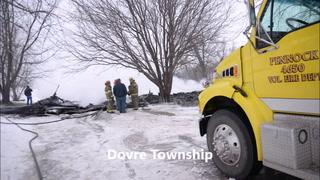 Video: Fire destroys Horizon Hills' duplex Wednesday morning