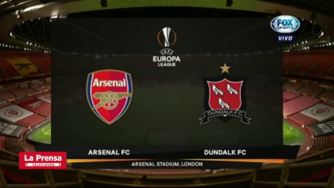 Arsenal 3-0 Dundalk FC (Europa League)