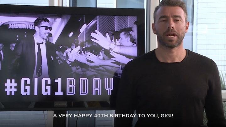 Happy 40th Birthday, Gigi Buffon!!!