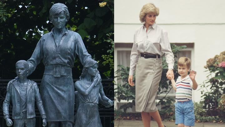 ¿Son estos los \'looks\' de Diana de Gales en los que se inspira su estatua?