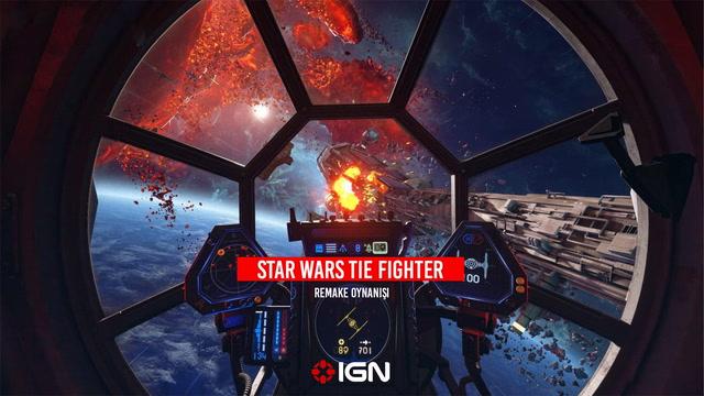 IGN -  Star Wars Tie Fighter Remake Oynanışı