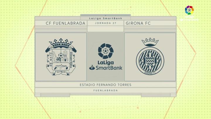 LaLiga Smartbank (Jornada 27): Fuenlabrada 1-1 Girona
