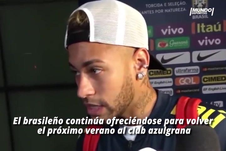 El Barça y el entorno de Neymar tantearon la posible vuelta hace meses (08/01/2019)