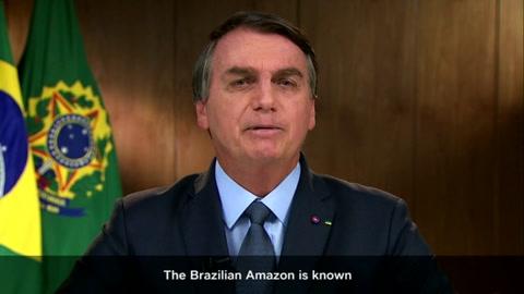 Bolsonaro denuncia en la ONU campaña de desinformación sobre Amazonía