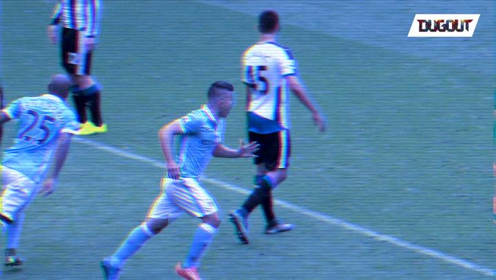 When Sergio Agüero Hit 5 Against Newcastle