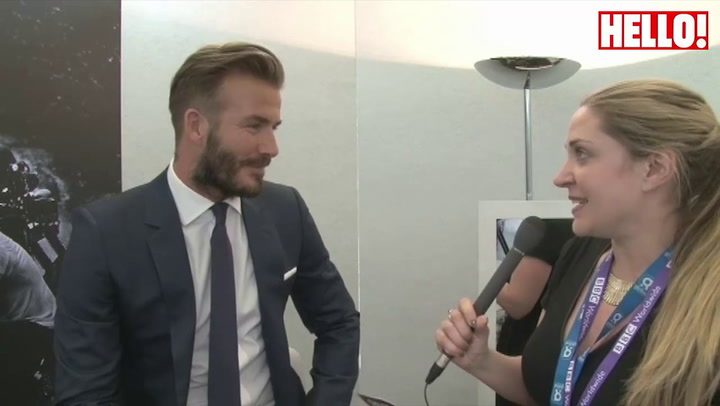 David Beckham reveals one of his greatest fears