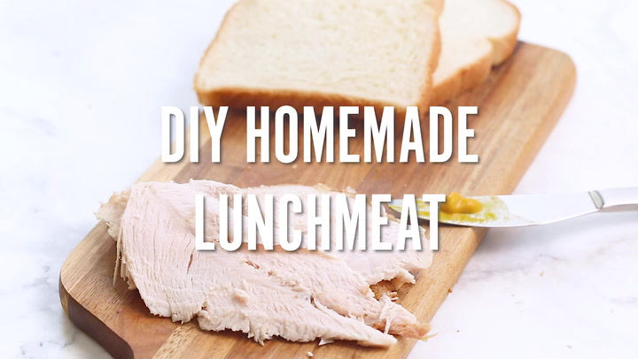 DIY Homemade Lunch Meat