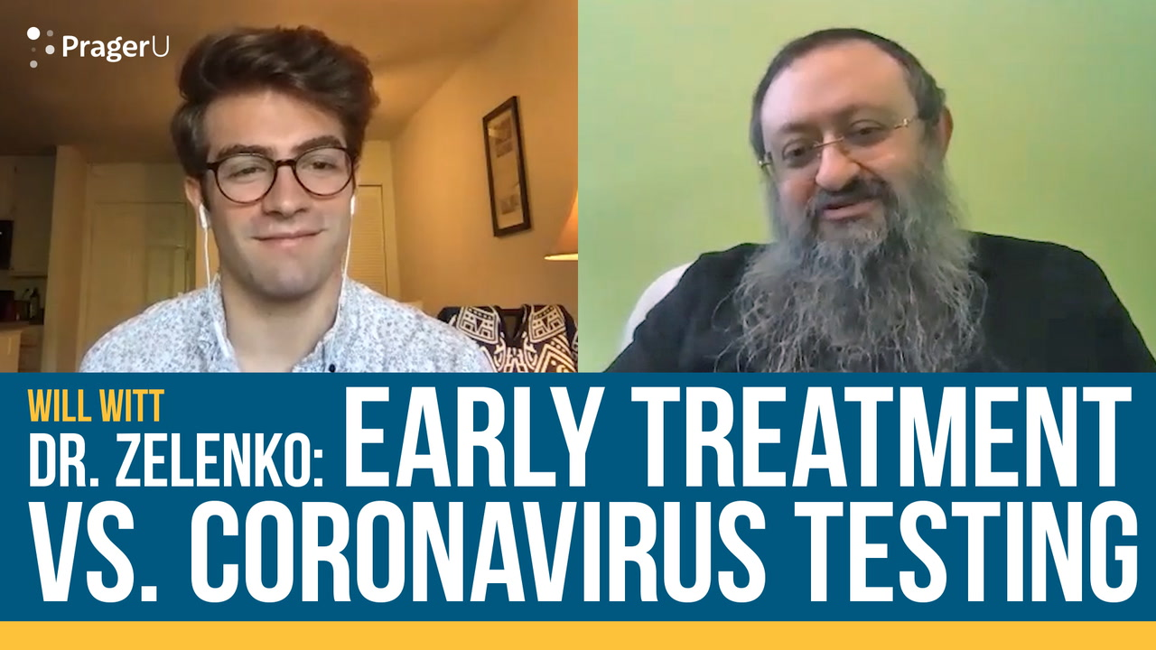 Doctor: Early Treatment vs. Coronavirus Testing