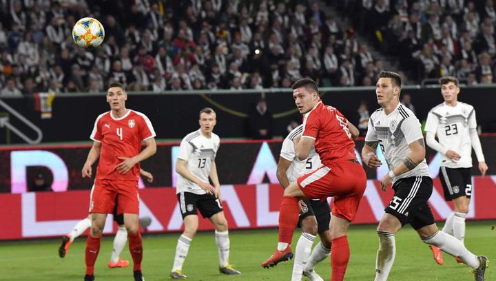Así fue el gol de Luka Jovic en el Serbia - Alemania
