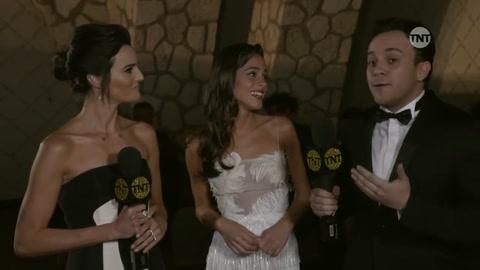 La China Suárez y Benjamín Vicuña deslumbraron en los Premios Platino