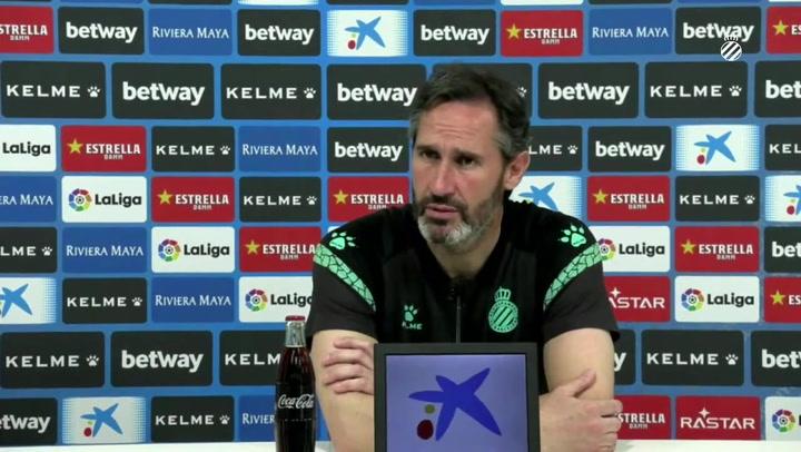 """Vicente Moreno: """"Es uno de los partidos más importantes y difíciles de la temporada"""""""