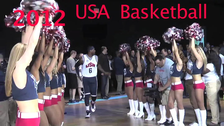 Lebron James 2012 Usa Basketball Male Athlete Of The Year