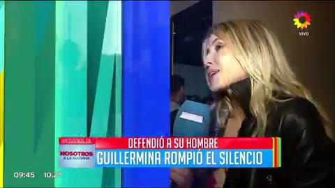 Guillermina Valdés intentó explicar el mensaje en Twitter que le trajo problemas a Tinelli