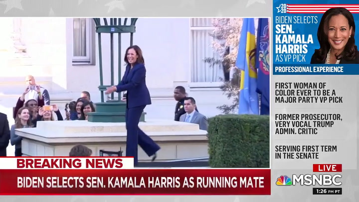 MSNBC's Reid: Harris Pick Ensures Maximum 'African-American' Turnout, Biden Now the 'Anti-Trump'