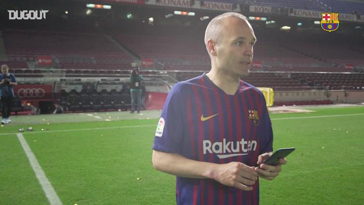 How Iniesta's Last Week at Barça Unfolded