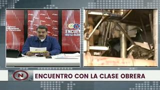 Maduro culpa a Colombia y EEUU por
