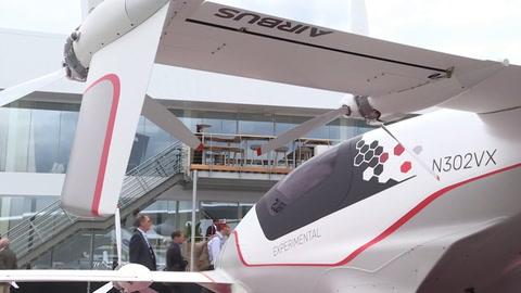 Objetivo - taxis voladores en los Juegos Olímpicos de París-2024