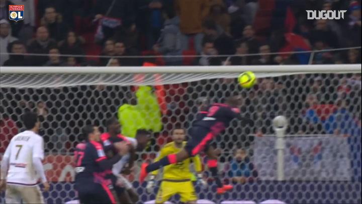 Anthony Lopes reflex save vs Bordeaux