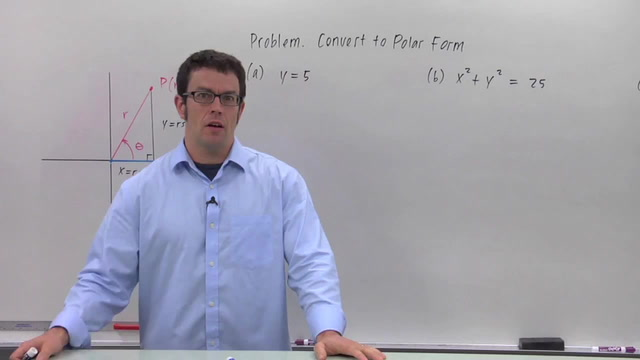 Converting from Rectangular Coordinates to Polar - Problem 1