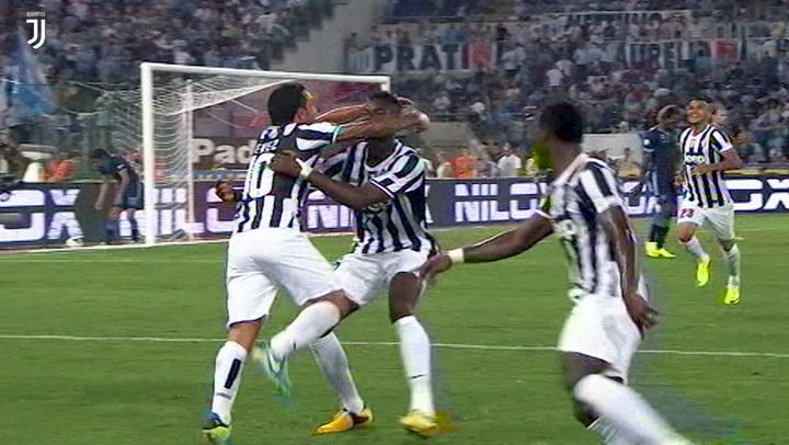 Debut Goal: Carlos Tevez Vs Lazio