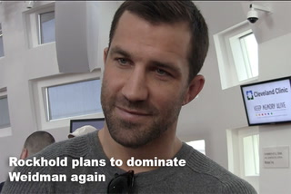 Rockhold plans to dominate Weidman again