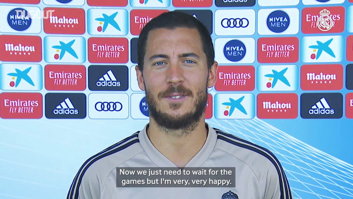 Hazard: 'I feel really good about being back with the guys'