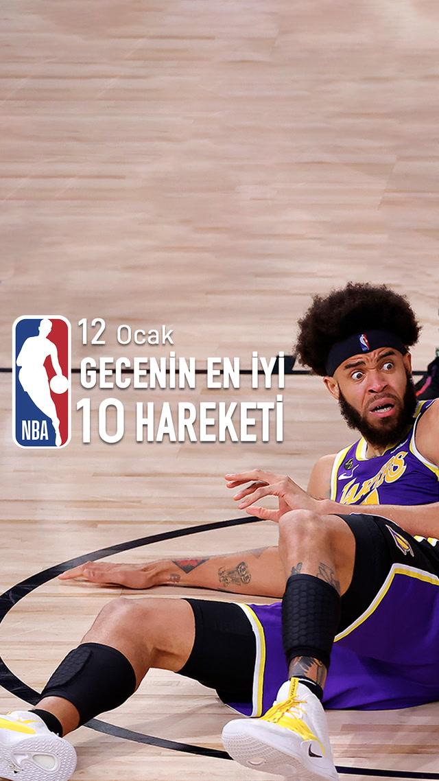 NBA'de gecenin en iyi 10 hareketi / 12 Ocak