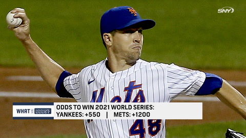 Who has better odds to win the World Series: Mets or Yankees?