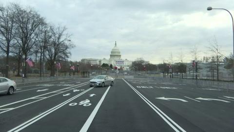 Washington es un pueblo fantasma en la semana de la investidura de Biden