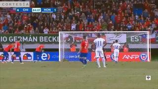 Fiesta de penales para Chile y derrota a Honduras por goleada