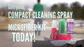 Cleaning Spray with MicroFiber Cloth