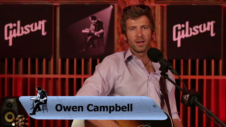 Owen Campbell performs Remember To Breathe on The Jimmy Lloyd Songwriter Showcase
