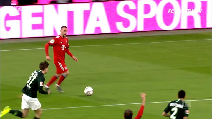 Franck Ribéry's Assist Hat-Trick Vs Wolfsburg