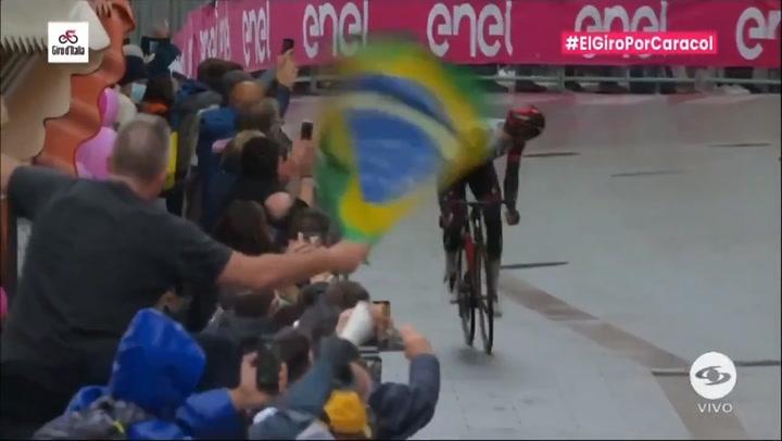 Joe Dombrowski ha ganado la etapa 3 del giro de Italia