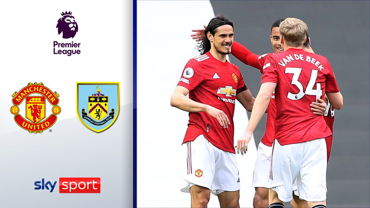 Greenwood & Cavani! United seit 12 Spielen unbesiegt | Highlights: ManUnited - FC Burnley 3:1